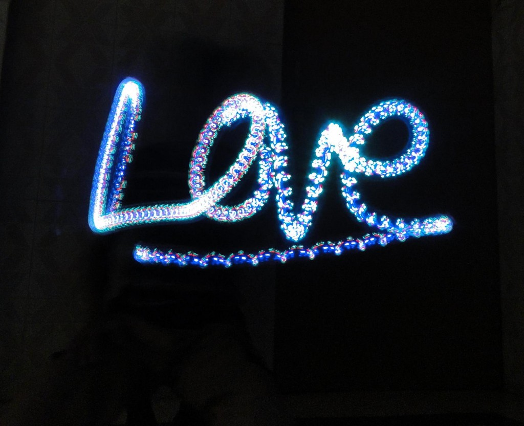 love-light-writing